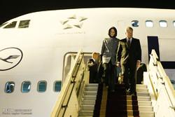 ورود رییس جمهور فنلاند به تهران
