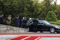 روحاني يستقبل نظيره الفنلندي رسمياً في مجمع سعد آباد