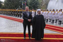 Bakir İzzet Begoviç, İran'da resmi törenle karşılandı