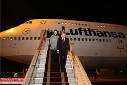 Finnish President arrives in Tehran