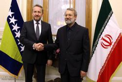 لاريجاني : القضاء على الارهاب يتطلب إرادة عالمية