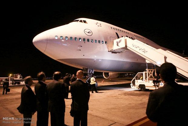Finland pres. arrives in Tehran