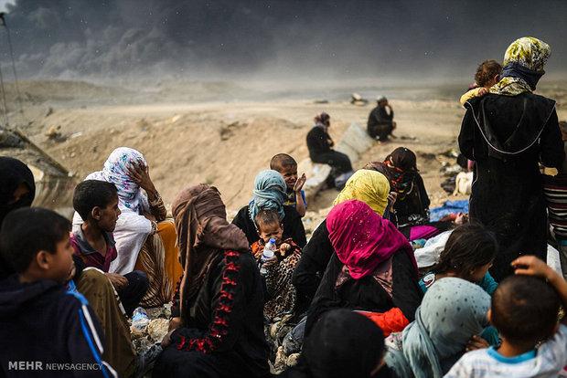 موصل سے دس ہزار سے زائد عراقی شہری ہجرت کر چکے ہیں