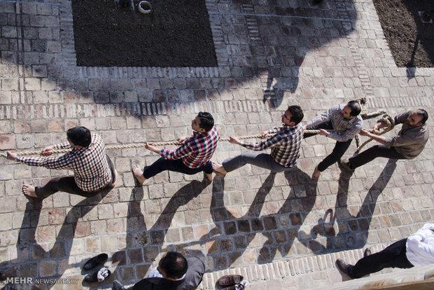 رقابت های طناب کشی کارمندان دولت در قزوین به کار خود پایان داد