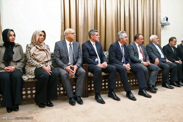 Leader receives Bosnian official