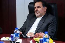 بازدیدحجت الاسلام و المسلمین ناطق نوری و عباس آخوندی وزیر راه و شهرسازی از آزادراه تهران-شمال