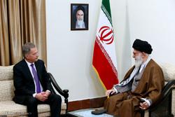 رہبر معظم انقلاب اسلامی سے فن لینڈ کے صدر کی ملاقات