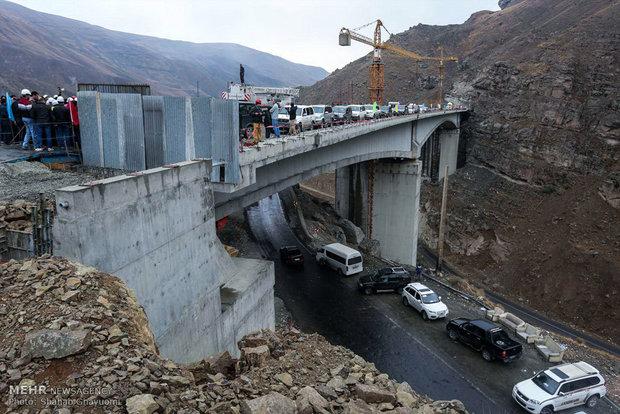 فاز اول آزادراه تهران - شمال قبل از دهه فجر افتتاح میشود