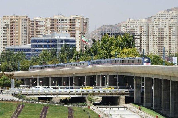 سوت قطار شهری در ایستگاه نور تبریز به صدا در آمد