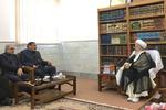 Şemhani, Ayetullah Mekarim Şirazi ile görüştü