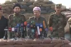 بارزاني: القوات العراقية وقوات مكافحة الإرهاب هي من ستدخل الموصل