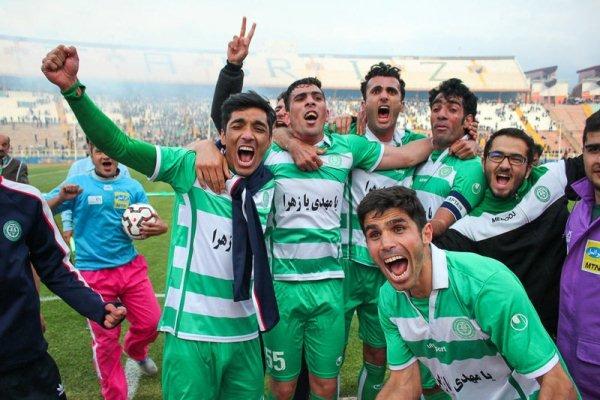 ماشین سازی تبریز به لیگ برتر رسید
