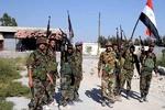 فیلم/عملیات ارتش سوریه ضد داعش در حومه حمص
