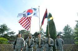 تیپ نظامیان آمریکا در کره جنوبی مستقر می شود
