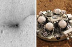 ارسال نخستین تصویر مریخ نشین منهدم شده اروپا به زمین