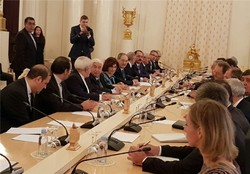 Moscow trilateral talks on Syria kicks off