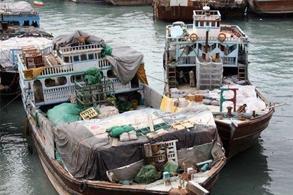 لنج باری دریا قایق تجارت دریایی ته لنجی