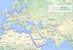 کریدور شمال-جنوب ؛ تپش ضربان اقتصادغرب آسیا در ایران