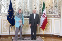 Mogherini, Zarif meet in Tehran
