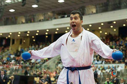 Ganjzadeh earns Iran's 1st gold at Karate World C'ships