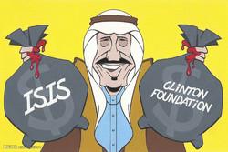 برترین کاریکاتورها؛ حمایت مالی عربستان از کلینتون