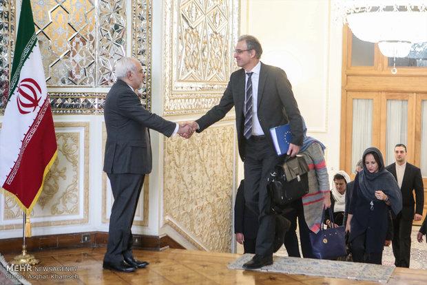دیدار رییس سیاست خارجی اروپا با ظریف