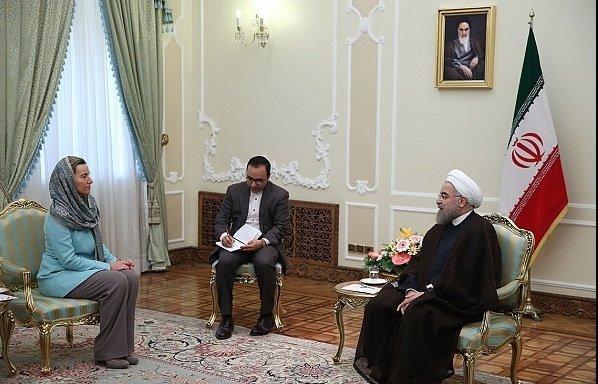 روحاني : استمرار الاتفاق النووي رهن بتنفيذ الطرف الآخر لجميع مبادئه وتعهداته