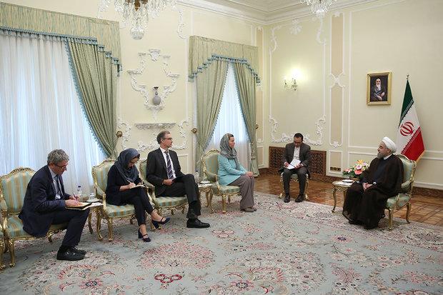 Rouhani urges EU to use political pressure against terrorist sponsors