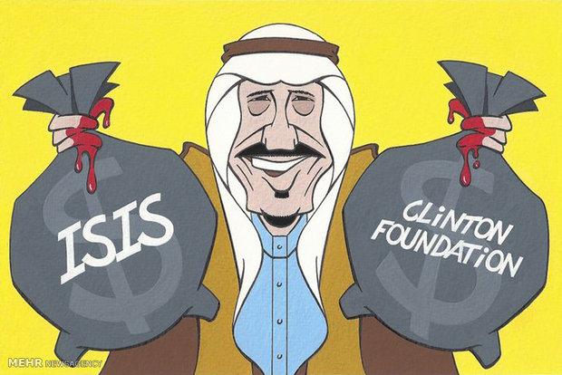 کاریکاتور عربستان