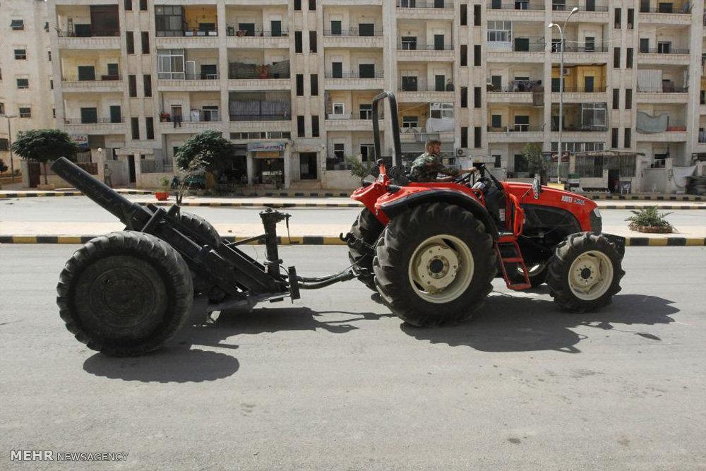 سلاح های مرگبار دست ساز تروریست ها در سوریه