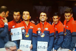 Iran's Male Team Kumite earns World C'ships title