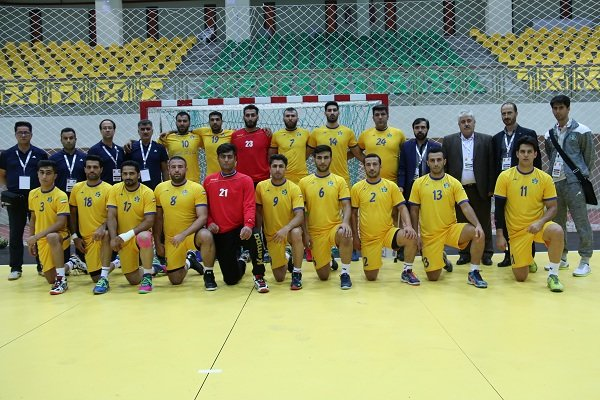 Iranian handballers short of medals at Asian Club League C'ship