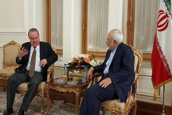 Zarif receives foreign envoys