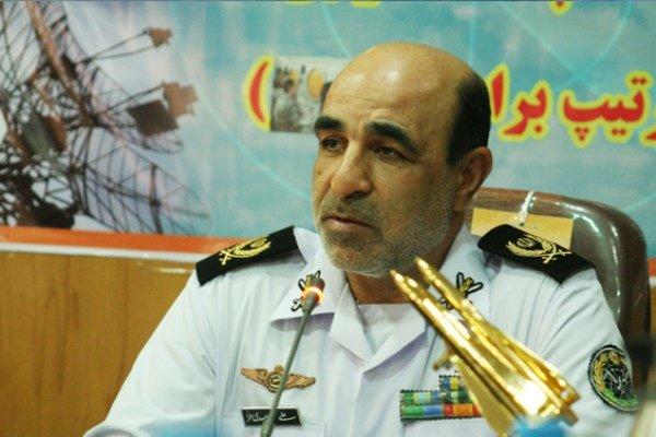 امیر سرتیم دوم ملک علی اسدی فرمانده منطقه پدافند هوایی شمالغرب کشور