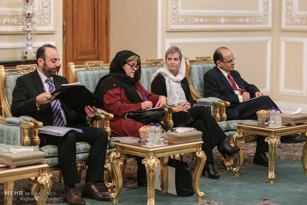 Larijani meets with Cypriot counterpart