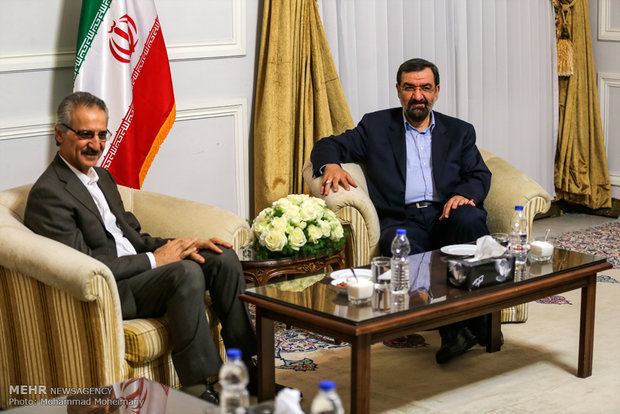 Rezaei meets with Iraqi delegation