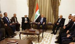 رئيس السلطة القضائية يبحث مع  رئيس الوزراء العراقي تطوير العلاقات الثنائية