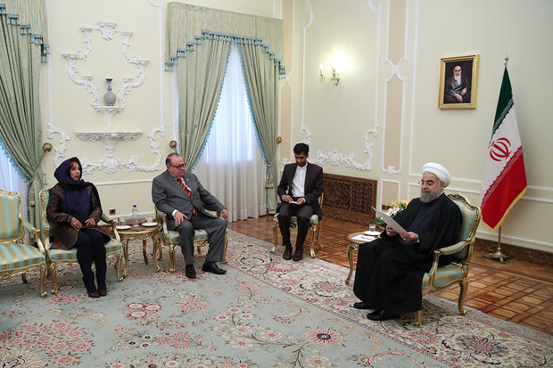Rouhani receives new foreign ambassadors