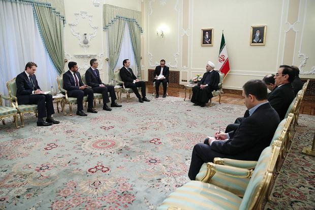 الرئيس روحاني : على الطرف الآخر بالاتفاق النووي الالتزام بتنفيذ تعهداته على غرار ايران