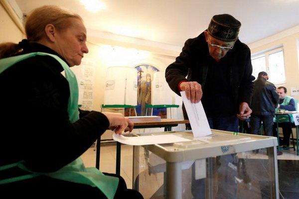 حزب حاکم گرجستان در انتخابات پارلمانی به پیروزی رسید