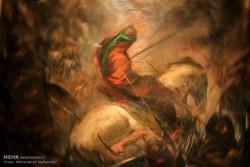 نقاشی عاشورایی در بابل رونمایی می شود