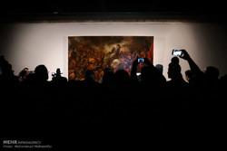 رونمایی از تازه ترین اثر نقاشی عاشورایی حسن روح الامین