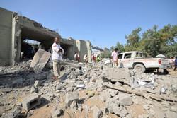 حمله هوایی به یک زندان در یمن