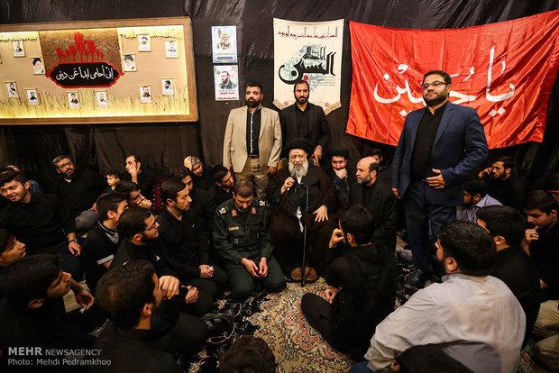 مراسم وداع با پیکر شهید مدافع حرم محمد کیهانی