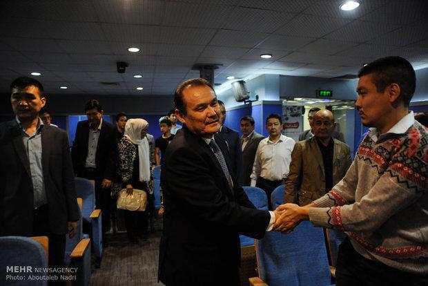 kazakh amb. visits Gorgan