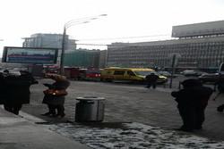 هشدار بمب گذاری در ساختمان خبرگزاری اسپوتنیک
