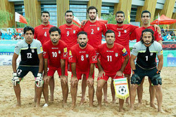 Iran beats Russia at Beach Soccer Cup