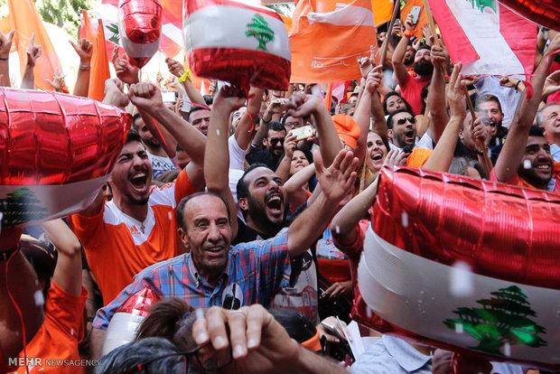 خوشحالی لبنانی ها از ریاست جمهوری میشل عون