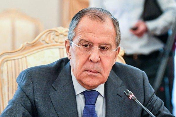 سرگئی لاوروف وزیر امور خارجه روسیه