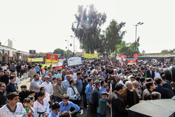 """مسيرة """"اليوم الوطني لمقارعة الاستكبار العالمي"""" في لرستان /صور"""